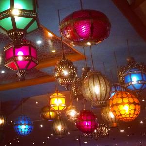 Lanterns in Las Vegas
