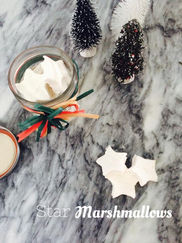 Sunday Sweets // Star Marshmallows via Ten6Twelve