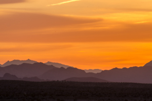 Sunrise at Lake Mead